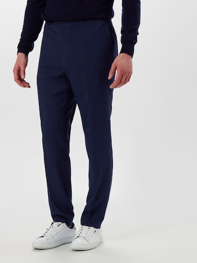 BURTON MENSWEAR LONDON Hose 'NAVY HIGHLIGHT CHECK SKINNY...' in navy, Modelansicht