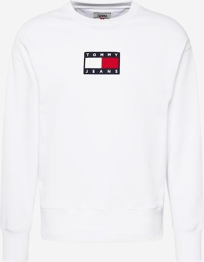 Tommy Jeans Sweatshirt in de kleur Donkerblauw / Rood / Wit, Productweergave