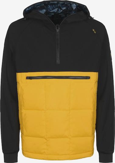 ELEMENT Winterjas 'Griffin Light PO' in de kleur Geel / Zwart, Productweergave