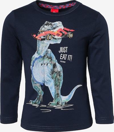 s.Oliver Junior Shirt in marine / mischfarben, Produktansicht