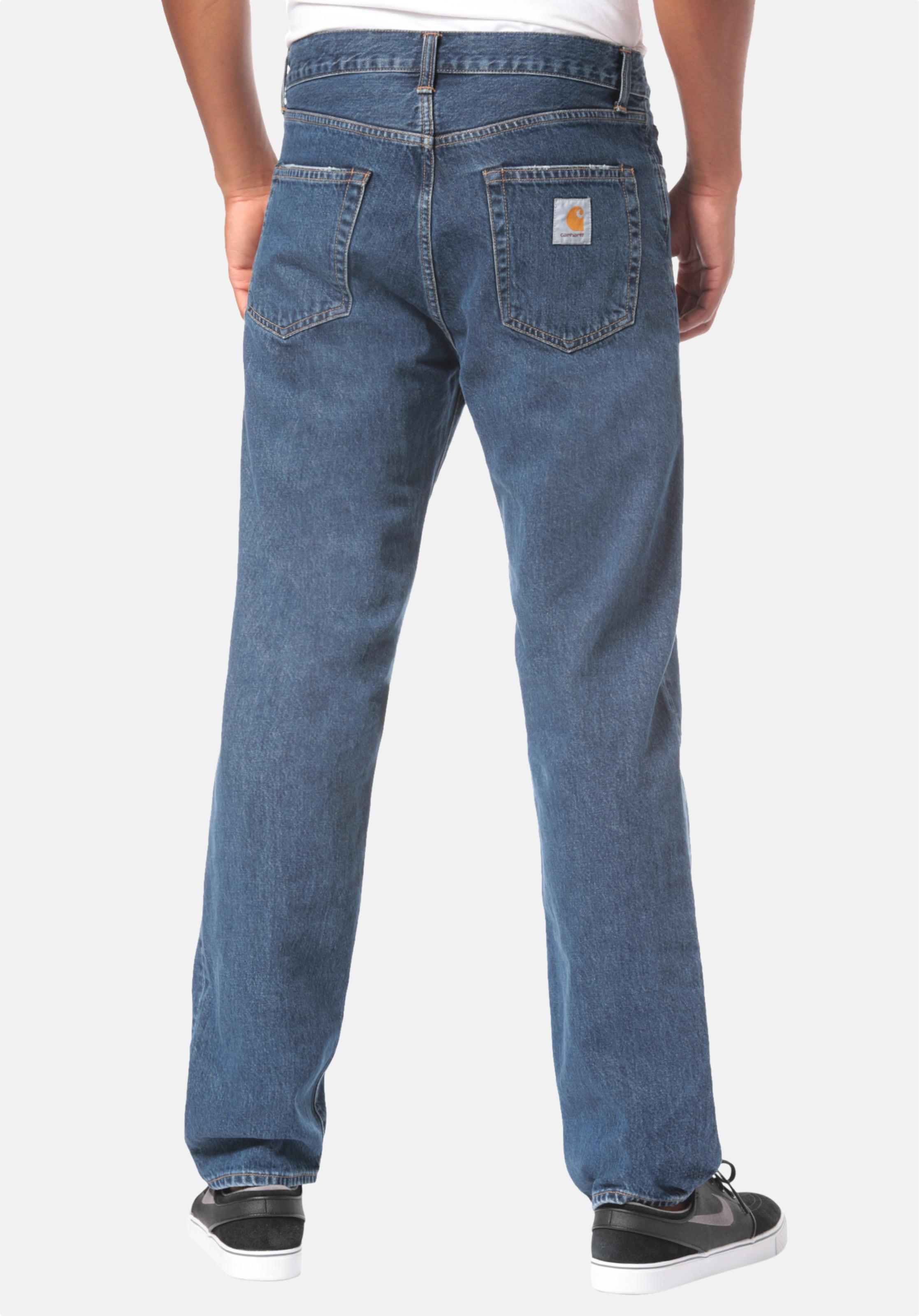 Carhartt In Pontiac Wip Jeans Blue Denim kPiuOXZ