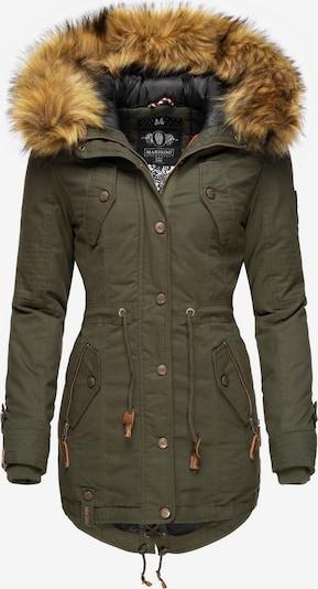 MARIKOO Mantel in khaki, Produktansicht