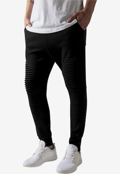 Urban Classics Bukser i sort, Modelvisning
