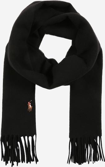 Polo Ralph Lauren Écharpe 'COLDWEATHER-SIGN IT' en noir, Vue avec produit