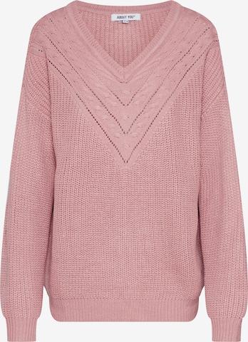 Pullover 'Emilia' di ABOUT YOU in rosa