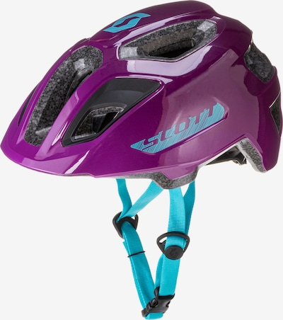SCOTT Fahrradhelm 'Spunto Junior (CE)' in türkis / pink, Produktansicht