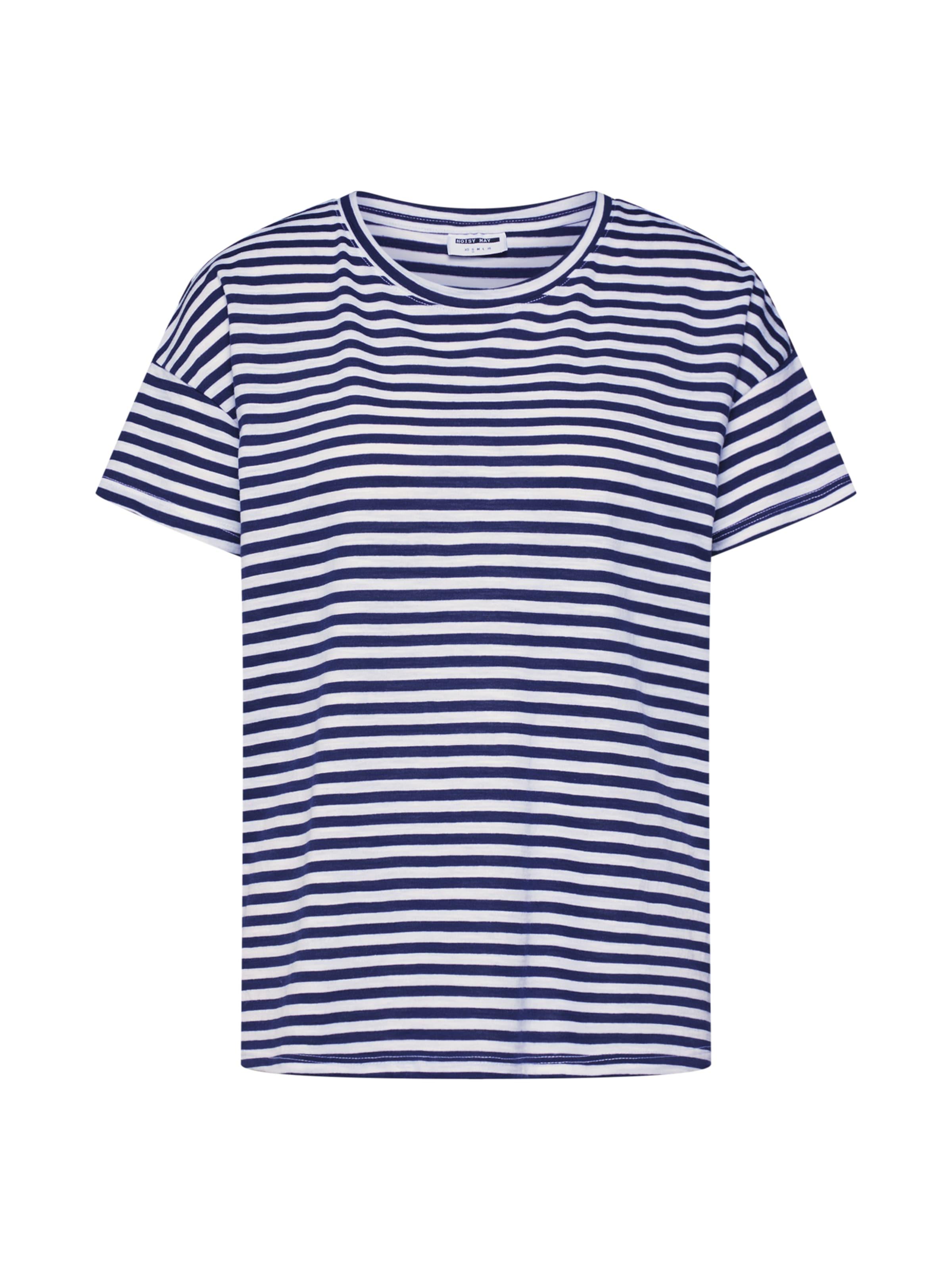 Noisy Shirt BlauWeiß May In 'command' dxtrshQC
