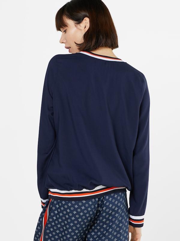 BROADWAY NYC FASHION Bluse mit elastischem Saum