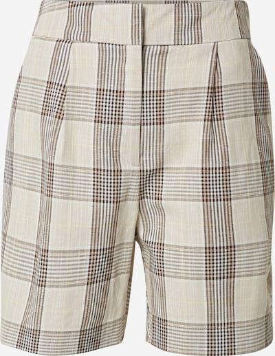 VERO MODA Spodnie 'OLLY' w kolorze brązowy / jasnobrązowy / pastelowo-żółtym, Podgląd produktu