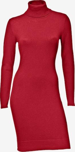 heine Robes en maille en rouge, Vue avec produit