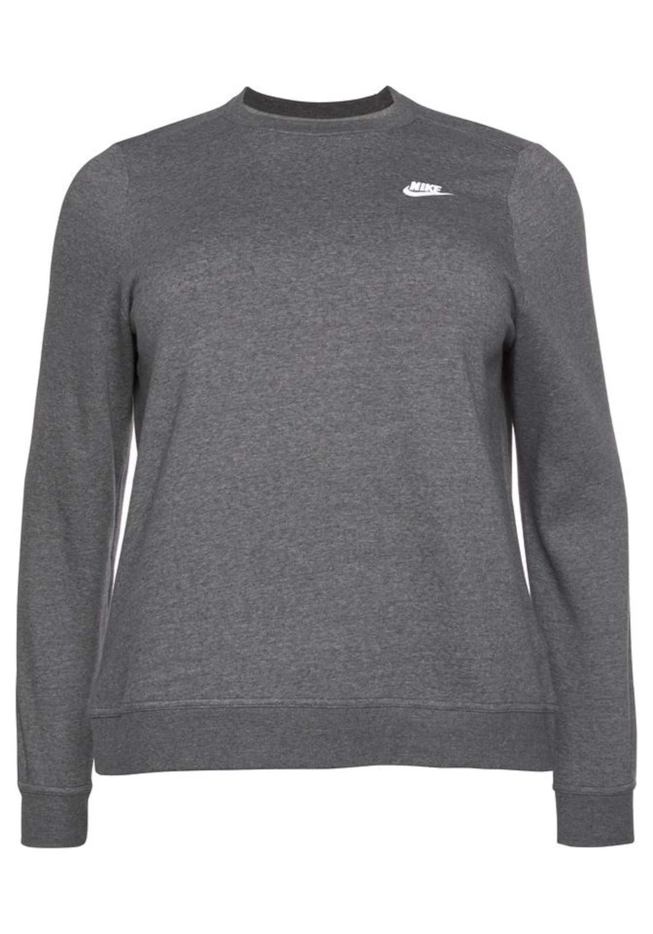 Sportswear In Nike GraumeliertWeiß Sweatshirt Nike drCxhtsQ