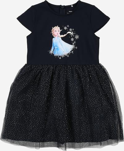 NAME IT Kleider 'Frozen Rebec' in navy / hellblau, Produktansicht