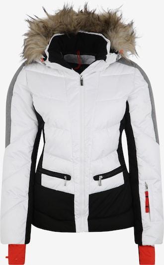 ICEPEAK Sportjas 'ELECTRA' in de kleur Zwart / Wit, Productweergave