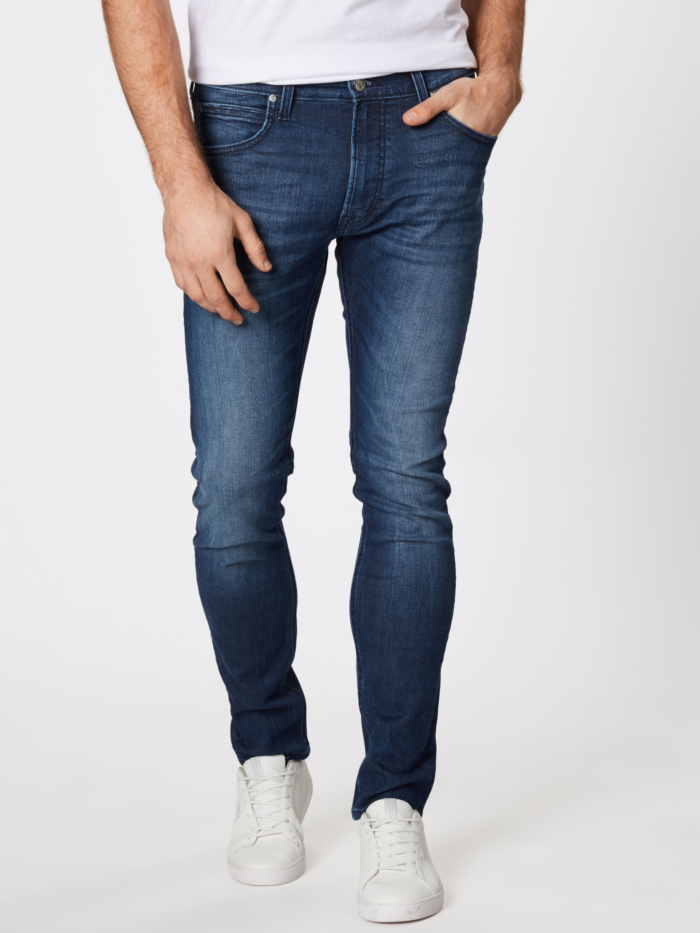 Jean Lee Denim En Bleu 'luke' I7fyvmYb6g