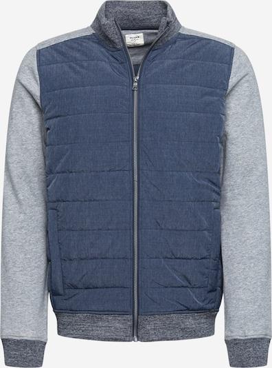 tengerészkék / kék melír / világosszürke OLYMP Tréning dzseki, Termék nézet