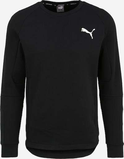 PUMA Sweatshirt 'EVOSTRIPE' in schwarz, Produktansicht