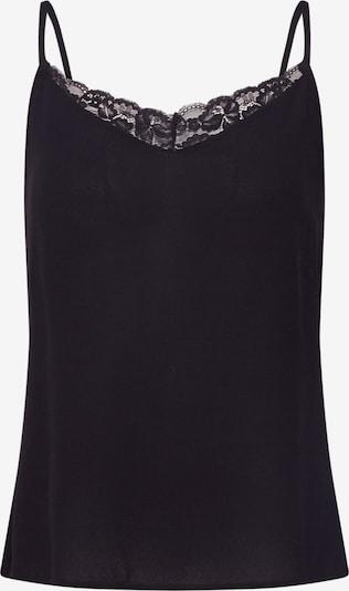 VILA Top 'MERO' w kolorze czarnym: Widok z przodu