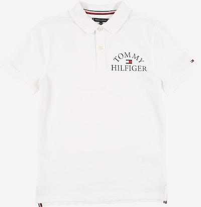 TOMMY HILFIGER Poloshirt in navy / rot / weiß, Produktansicht
