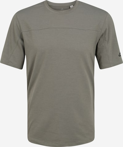 ADIDAS PERFORMANCE Sport-Shirt  'CITY BASE TEE' in khaki / schwarz, Produktansicht