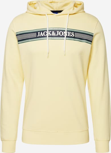 Bluză de molton JACK & JONES pe galben, Vizualizare produs