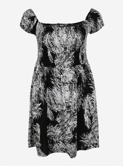 Urban Classics Curvy Ljetna haljina u crna / bijela, Pregled proizvoda