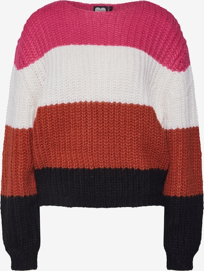 Pulover CATWALK JUNKIE pe culori mixte / roz, Vizualizare produs