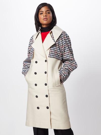 Designers Remix Trenchcoat 'Hailey' in weiß, Modelansicht