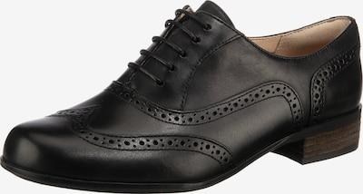 CLARKS Schnürschuh 'Hamble Oak' in schwarz, Produktansicht