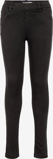 NAME IT Jeggings 'Polly' in black denim: Frontalansicht