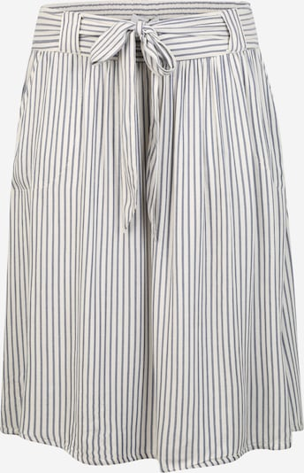ONLY Carmakoma Rock 'CARISA STRIPE DNM SKIRT' in blue denim / weiß, Produktansicht