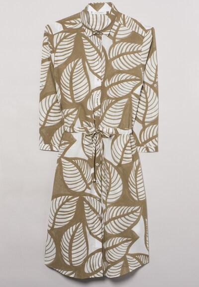 ETERNA Dreiviertelarm Blusenkleid MODERN CLASSIC in grün: Frontalansicht