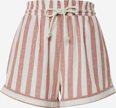 EDITED Shorts 'Nirina' in rosa / weiß, Produktansicht