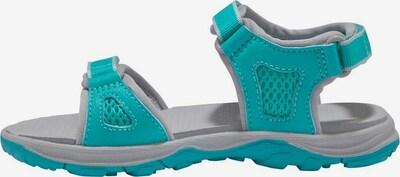 JACK WOLFSKIN Outdoorsandale 'Acora Beach Sandal G' in türkis / hellgrau, Produktansicht