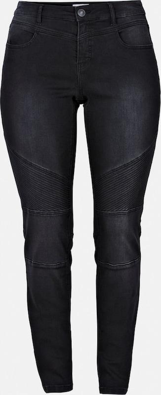 Sheego denim Stretch-Jeans in schwarz denim  Neue Kleidung in dieser Saison