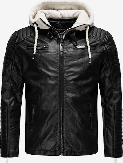 Redbridge Jacke in schwarz / weiß, Produktansicht