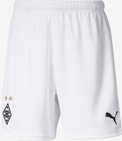 PUMA Shorts 'Borussia Mönchengladbach' in marine / gold / schwarz / weiß, Produktansicht