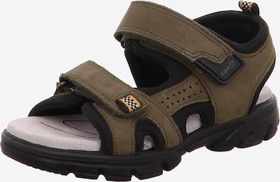 SUPERFIT Odprti čevlji 'SCORPIUS' | kaki barva, Prikaz izdelka