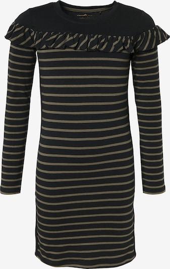 LEMON BERET Kleid in khaki / schwarz, Produktansicht
