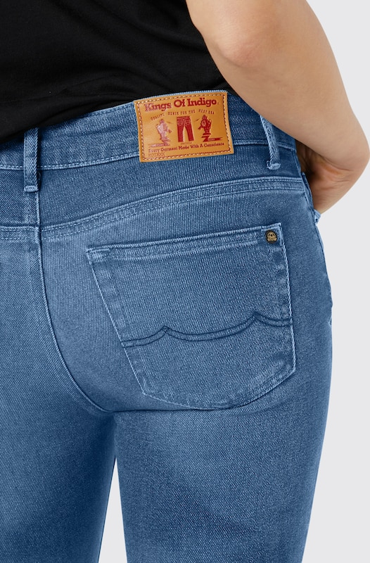 Kings Of Indigo Skinny Jeans  Juno SS  in blue denim   ABOUT YOU 36ea91d94f