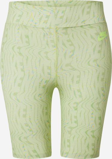 Nike Sportswear Leggings en menthe, Vue avec produit