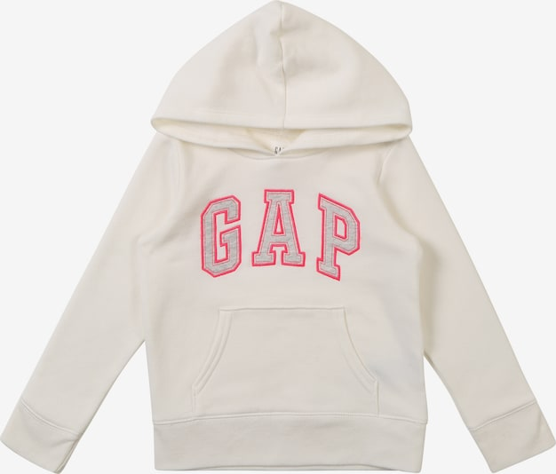 GAP Sweatshirt 'GAP LOGO HOOD' in de kleur Wit, Productweergave
