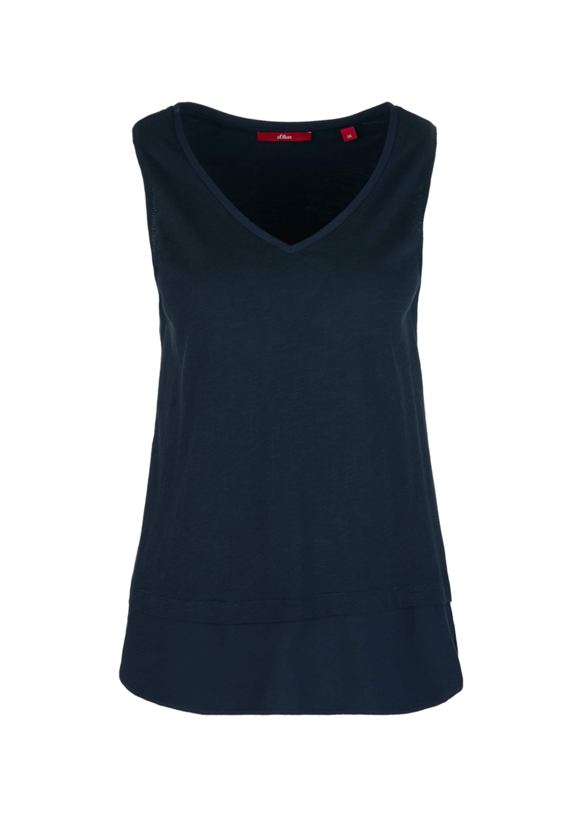 S Label oliver Top Ultramarinblau Red In F13JuTlKc5