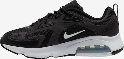 NIKE Sneaker 'Air Max 200' in schwarz / weiß, Produktansicht