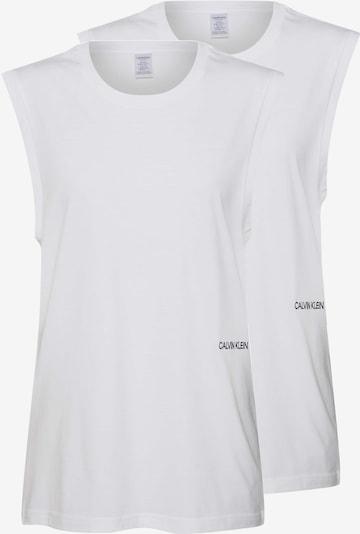 Calvin Klein Underwear Chemise de nuit 'MUSCLE TANK 2PK' en blanc, Vue avec produit