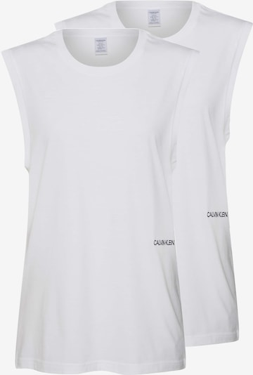 Calvin Klein Underwear Tričko na spaní 'MUSCLE TANK 2PK' - bílá, Produkt