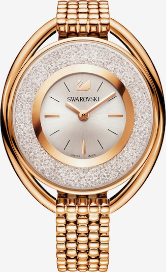 Swarovski Uhr in rosegold / weiß, Produktansicht