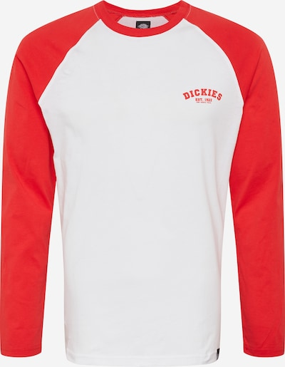 DICKIES Shirt 'Baseball' in de kleur Rood / Wit, Productweergave