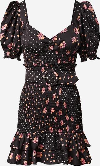 For Love & Lemons Jurk 'Camellia' in de kleur Gemengde kleuren / Zwart, Productweergave