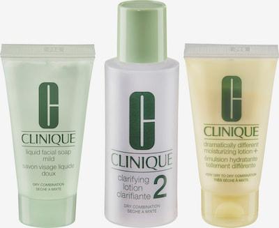 CLINIQUE Gesichtspflegeset in gelb / grün / lila / weiß, Produktansicht