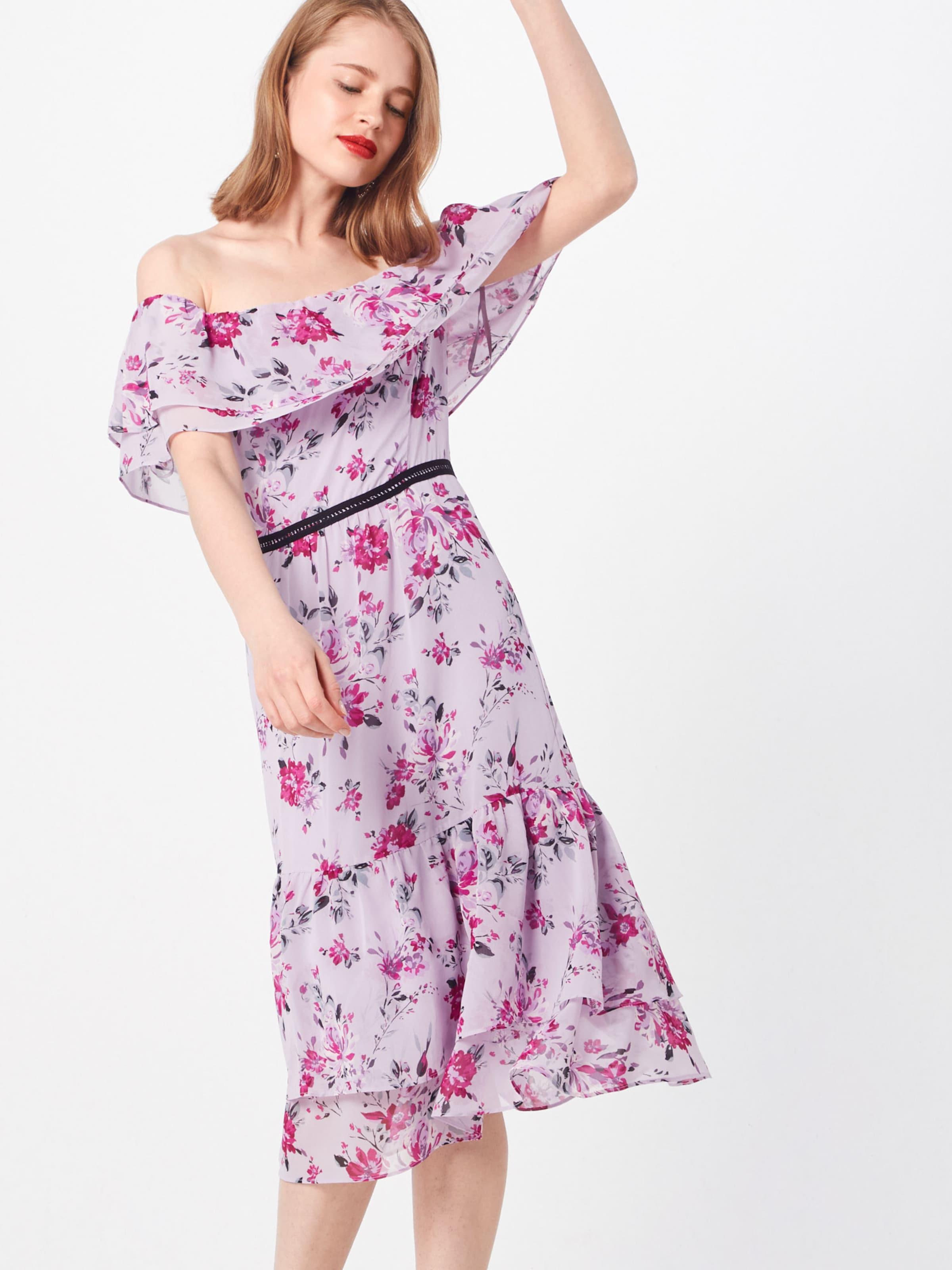 S Lavendel Label Kleid Black oliver In 5Aj43RL